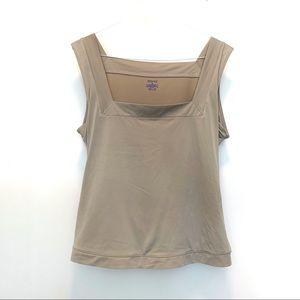 SPANX Nude Shapewear Tank Cami 2X